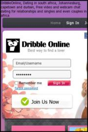 Dribble Online Dating in South Africa