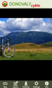 DONOVALY cyklo