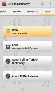 Collins Turkish Dictionary