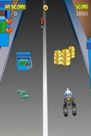 Bike Hurdling Race