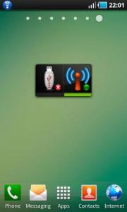 Instant USB WiFi Tether
