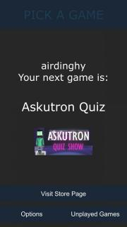 Pick a Game