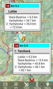 MTB cyklotrasy Terchova
