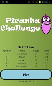 Piranha Challenge