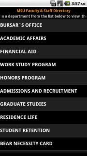 MSU Directory