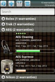 My Warranties Lite