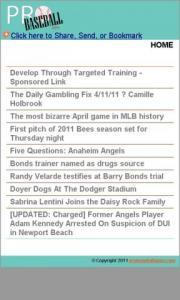 Anaheim Pro Baseball News