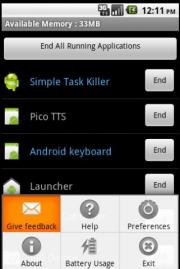 Simple Task Killer