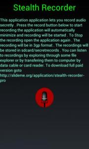 Stealth Recorder Pro