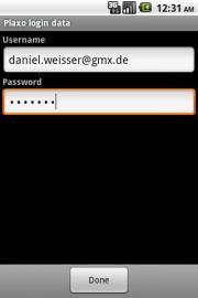 Daniel's Plaxo Sync