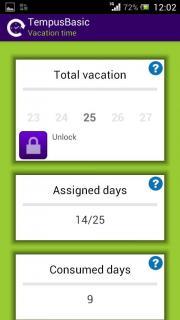 TempusBasic: Vacation time FREE EDITION