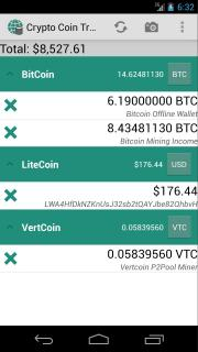 Crypto Coin Tracker