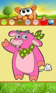 Baby Coloring: Wild Animal
