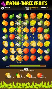 Match-3 Fruit Free Edition