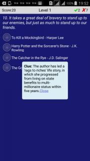 Book Quotes Quiz