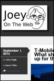 Joey On The Web