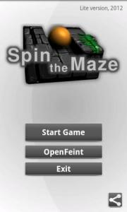 Spin the Maze Lite
