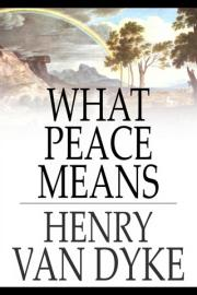 What Peace Means