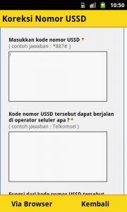 Kode Opsel