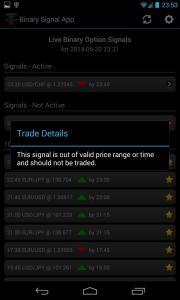 Binary Signal App