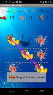 Underwater Tic Tac Toe