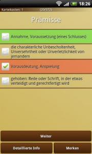 Word Trainer DE Free