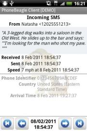 PhoneBeagle Client