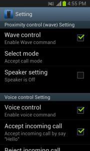 Smart Call Accept