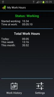 My Work Hours