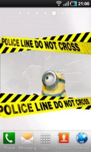 Minion Do Not Cross