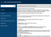 Collins Cobuild Intermediate Dictionary
