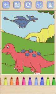 Paint Dinosaurs