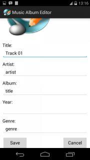 Music Album Editor