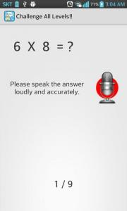Learn Multiplication Table By Speaking