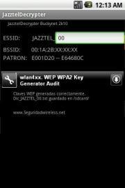 JazztelDecrypter