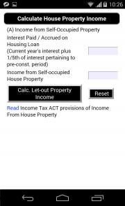 Calculate Income & Tax