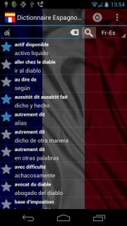 Spanish French Dictionary FREE