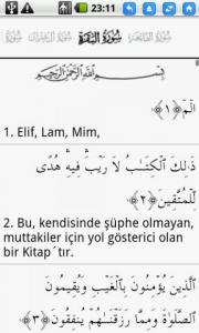Quran Turkish (KUR'AN-I KERİM)