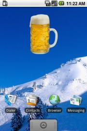 Pint Of Beer Widget