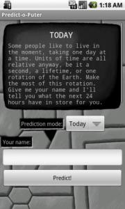 Predict-o-Puter