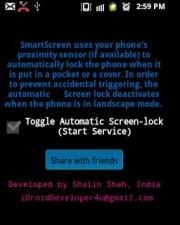SmartScreen On/Off