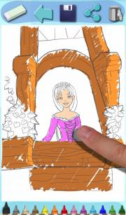 Paint Rapunzel