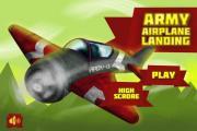 Army Airplane Landing