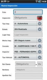 Inspeccion vehiculo