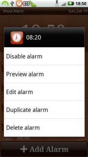Shout Alarm
