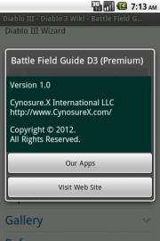 Battle Field Guide D3