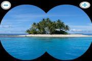 Binoculars zooming