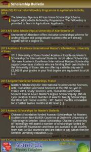 Scholarship Bulletin