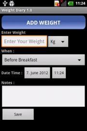 Weight Diary 1.0