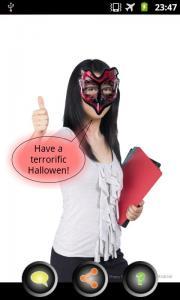 Photo talks Halloween